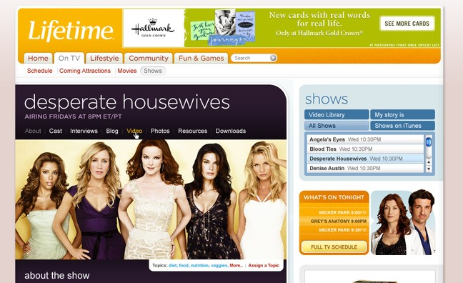 Lifetime Movies Page