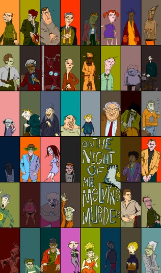 Mr. Melvyn characters (also by 8Bits and Speared Peanut)