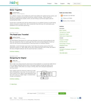 Inkling Blog