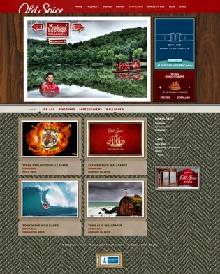 Old Spice Downloads