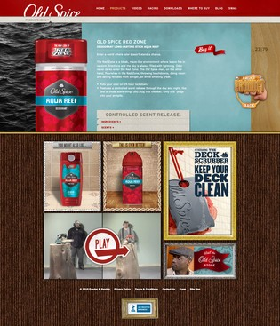 Old Spice Product Detail