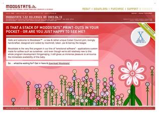 Moodstats web site