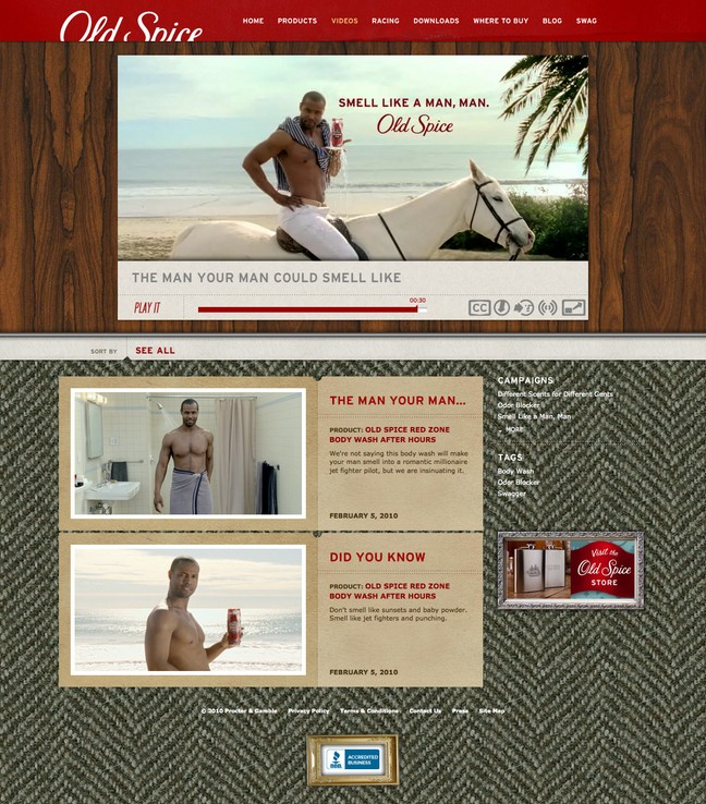 Old Spice Videos